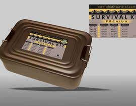 #7 for Design graphics for my survival kit case by franklugo
