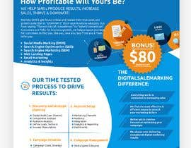 #17 for digital marketing company 1 page ad for magazine by iampestanyow
