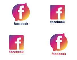 #1045 untuk Create a better version of Facebook's new logo oleh Iammdtareq