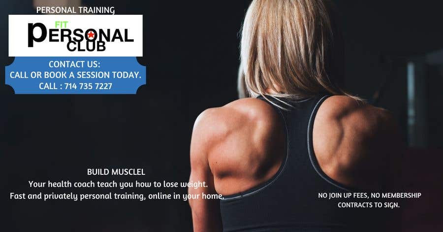 """Intrarea #17 pentru concursul """"marketing and creating ads for my personal training website ,and face book instagram ads. -- 2"""""""