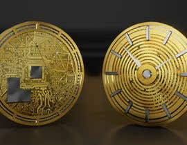 nº 27 pour Design of Cryptocurrency Coin in 3D with different backgrounds and wallpapers par danieljimenez1