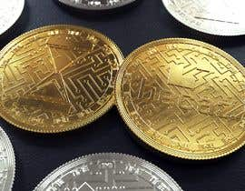nº 5 pour Design of Cryptocurrency Coin in 3D with different backgrounds and wallpapers par jdmal2004