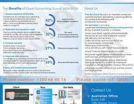 nº 14 pour A4 flyer needed to promote cloud bookeeping & accounting services par chungfred