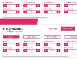 #7 for Create UX/UI for  baking pricing app by faisalalamapu