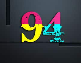 #6 for Create a stunning logo using the number 94 by shakilpathan7111
