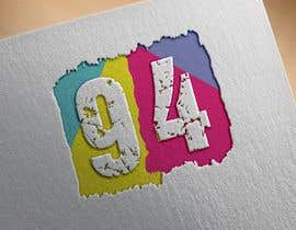 #13 for Create a stunning logo using the number 94 by shakilhossain533