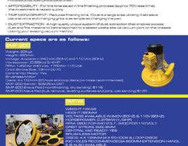 #71 for Design advertising flyer for industrial sander by mdrajib676