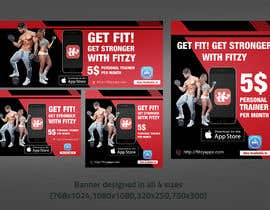 #40 для Banners for Mobile Fitness App от moslehu13