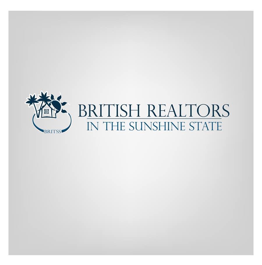 Penyertaan Peraduan #                                        19                                      untuk                                         Logo Design for British Realtors, relocating people UK to Forida