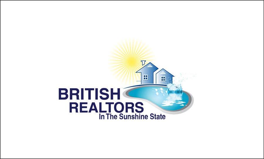Penyertaan Peraduan #                                        14                                      untuk                                         Logo Design for British Realtors, relocating people UK to Forida