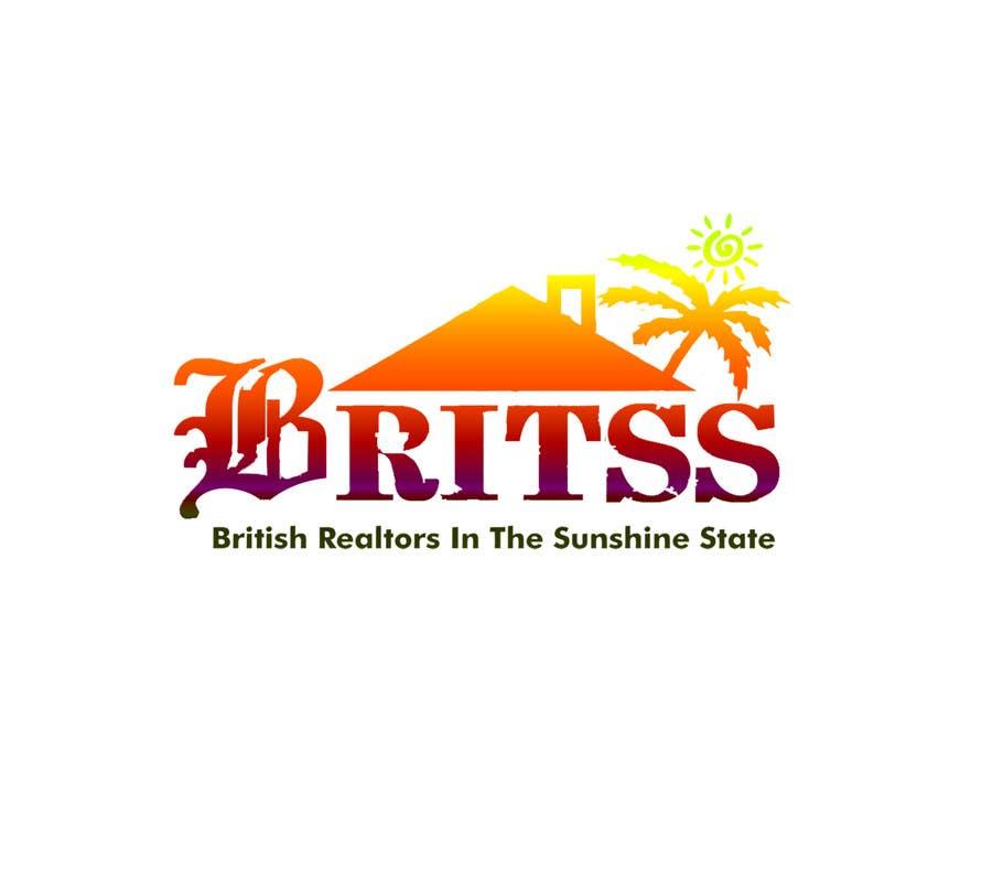Penyertaan Peraduan #                                        3                                      untuk                                         Logo Design for British Realtors, relocating people UK to Forida