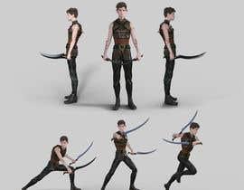 #44 for Design a Dark Elf rogue character by JeanpoolJauregui