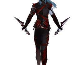 #31 for Design a Dark Elf rogue character by kozzypiece9