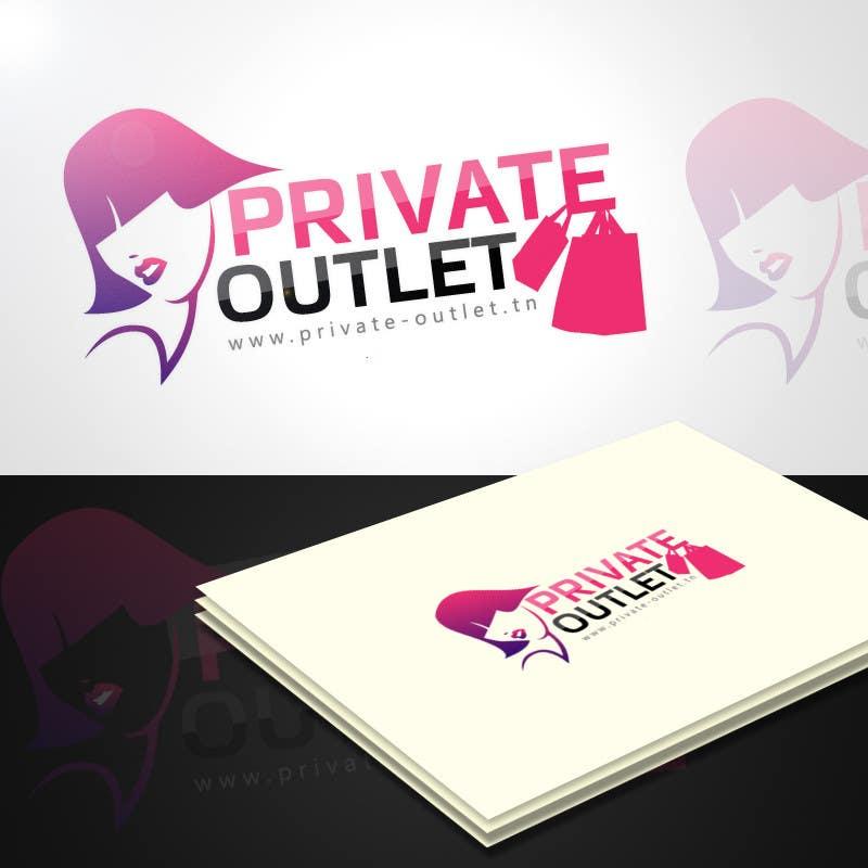 Penyertaan Peraduan #                                        19                                      untuk                                         Logo Design for www.private-outlet.tn