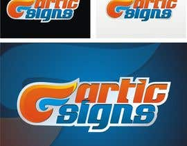 nº 38 pour Logo Design for ARTIC SIGNS par Crussader