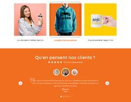 #46 for E-commerce homepage webdesign by GraphicaKing