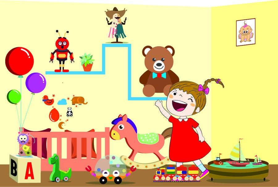 Penyertaan Peraduan #62 untuk Concept Art for Child Education App