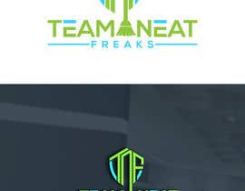 "#152 for I need a logo for my cleaning company ""Team Neat Freaks"". Custom lettering and graphic. I've attached a few ideas I like including the colors I want it to have.  Clean but hip as well, may also have a sports team element hence the name ""Team"" Neat Freaks by arifdes"
