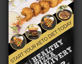 #63 for create postcard flyer for new restaurant by fourtunedesign