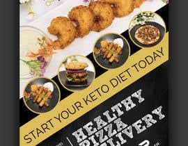 #63 para create postcard flyer for new restaurant de fourtunedesign