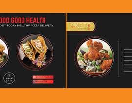 Nro 74 kilpailuun create postcard flyer for new restaurant käyttäjältä EliousAhmmed19