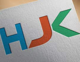 #63 for Make a 3D looking logo of HjK by sharifhossen00