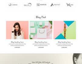 #44 cho Homepage Design for e-commerce platform bởi syrwebdevelopmen