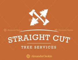 #2 cho Logo Design for Straight Cut Tree Service bởi osokin