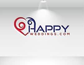 nº 641 pour Happy Weddings.Com Logo to be designed par altafhossain3068