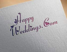 #867 cho Happy Weddings.Com Logo to be designed bởi Hannan821