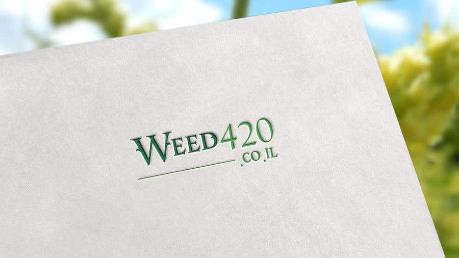 Konkurrenceindlæg #8 for A logo for a weed website