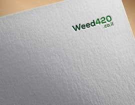 nº 11 pour A logo for a weed website par graphicrakib