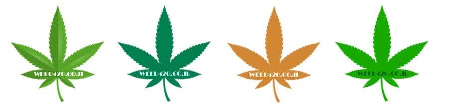 Kilpailutyö #20 kilpailussa A logo for a weed website