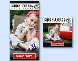 sharmintusi tarafından Banner for Advertising Knuckleheads Clothing için no 154