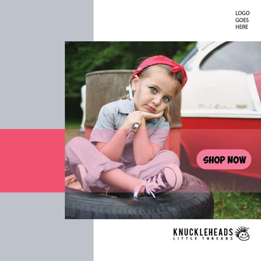 Kilpailutyö #50 kilpailussa Banner for Advertising Knuckleheads Clothing