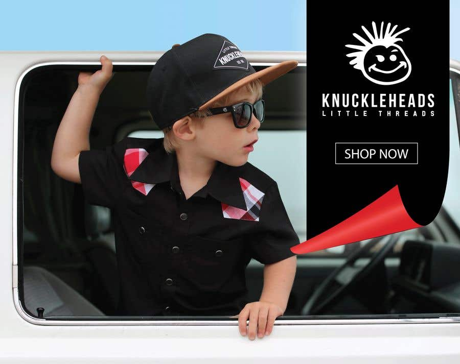 Proposition n°148 du concours Banner for Advertising Knuckleheads Clothing