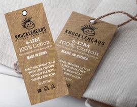 #55 untuk Clothing printed tag oleh takemenet