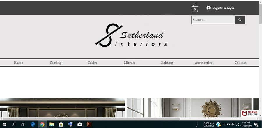 Bài tham dự cuộc thi #1257 cho Sutherland Interiors