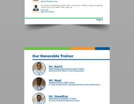 #6 cho Need our training institute profile in a pdf.. Around 10 to 15 pages approximately bởi Nisshan