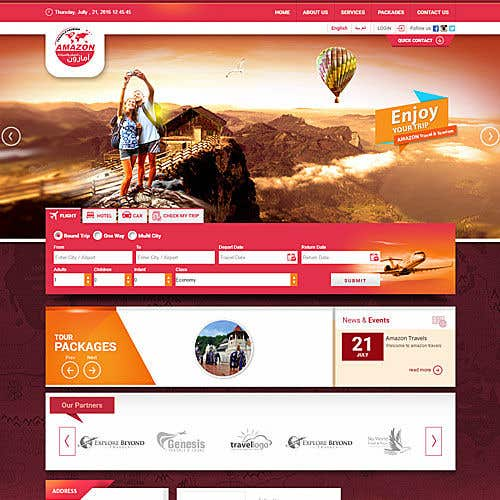 Kilpailutyö #30 kilpailussa Wordpress Website redesign 3 pages