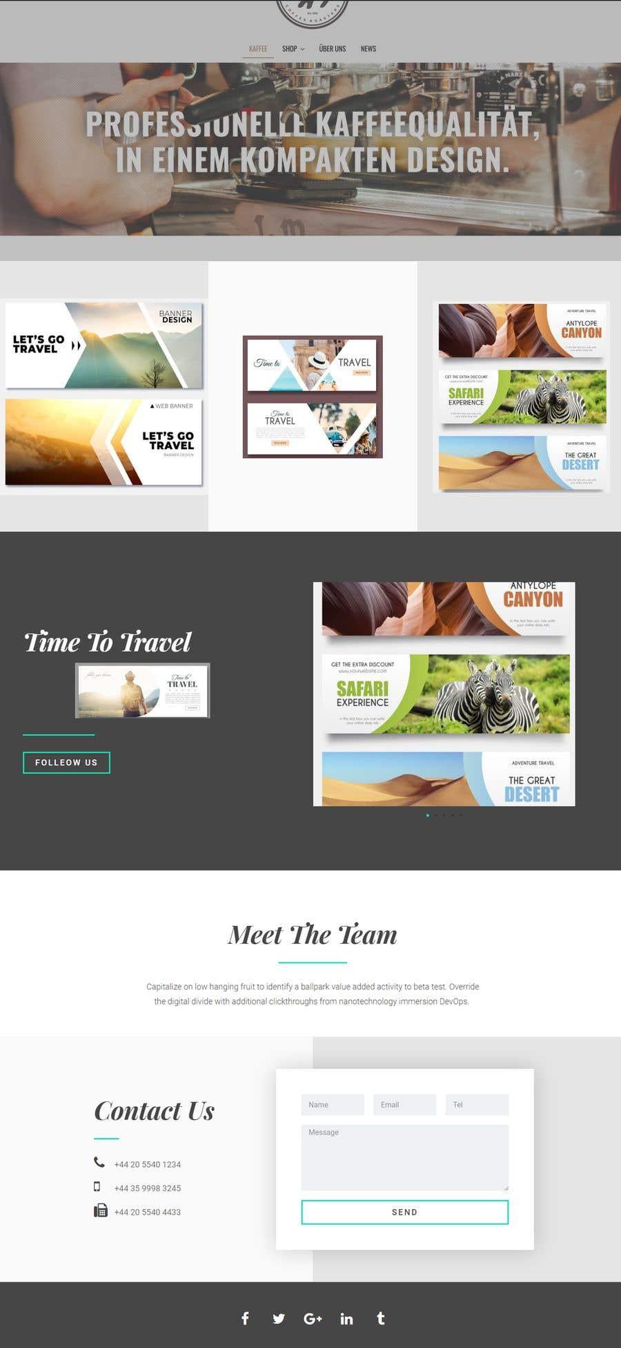 """Intrarea #                                        36                                      pentru concursul """"                                        Design 3 Banners for a web landing page                                     """""""
