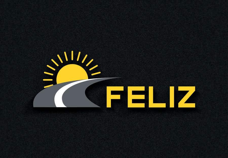 "Kilpailutyö #96 kilpailussa Design Logo to Gas Sation called ""Feliz"""