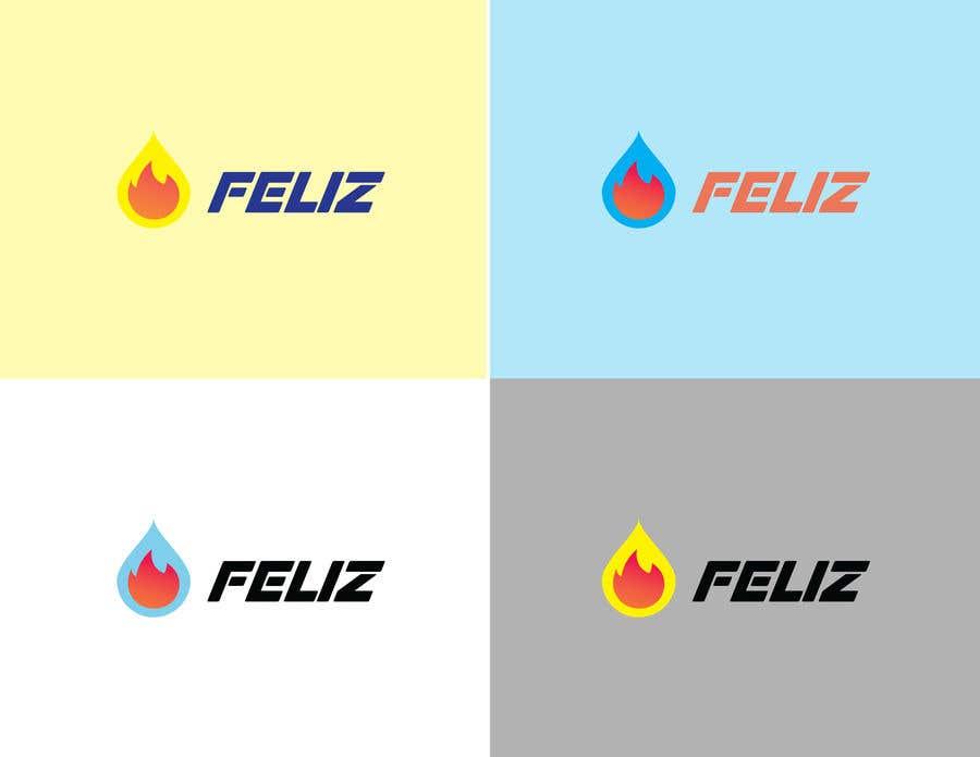 "Kilpailutyö #400 kilpailussa Design Logo to Gas Sation called ""Feliz"""