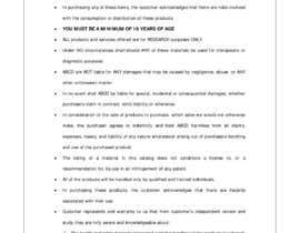 #18 para rewrite copywriting writing for my shop. de pjayasinghe