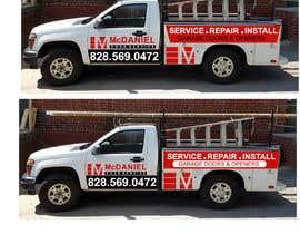 nº 46 pour Vehicle lettering/wrap design par akbar987