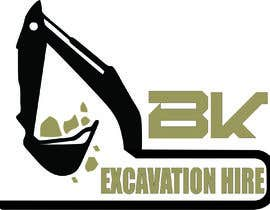 #37 for Logo Design for excavation hire business by arqjosenmoros