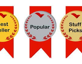 "#30 for ""Best Seller"", ""Staff Picks"" and ""Popular"" Badges for website products af paulall"