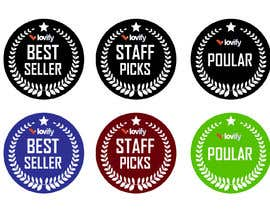 "#4 for ""Best Seller"", ""Staff Picks"" and ""Popular"" Badges for website products af HuzaifaQ1997"