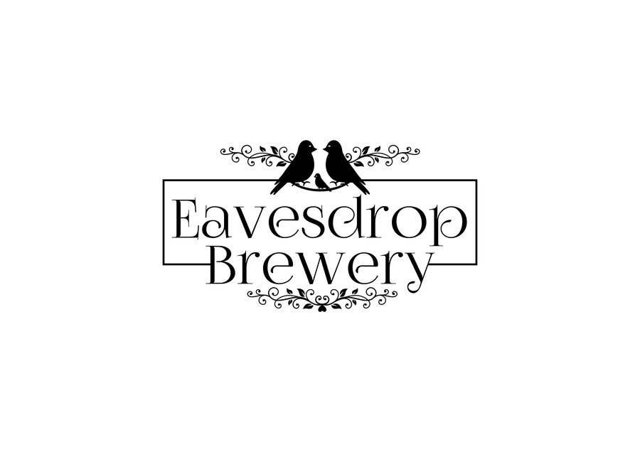Konkurrenceindlæg #43 for Eavesdrop Brewery new logos