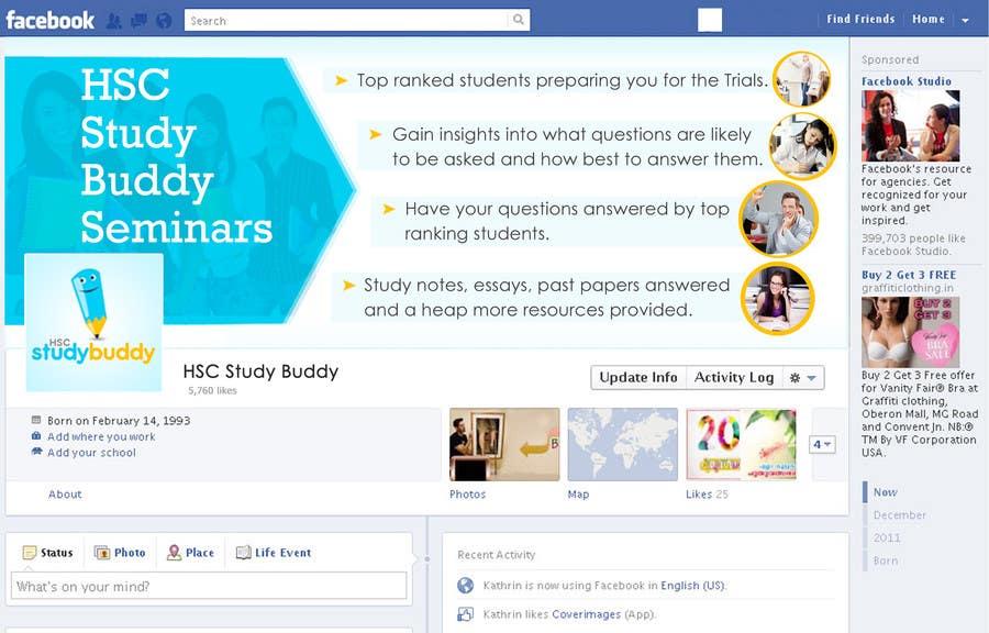 Penyertaan Peraduan #                                        4                                      untuk                                         Banner Ad Design for HSC Study Buddy